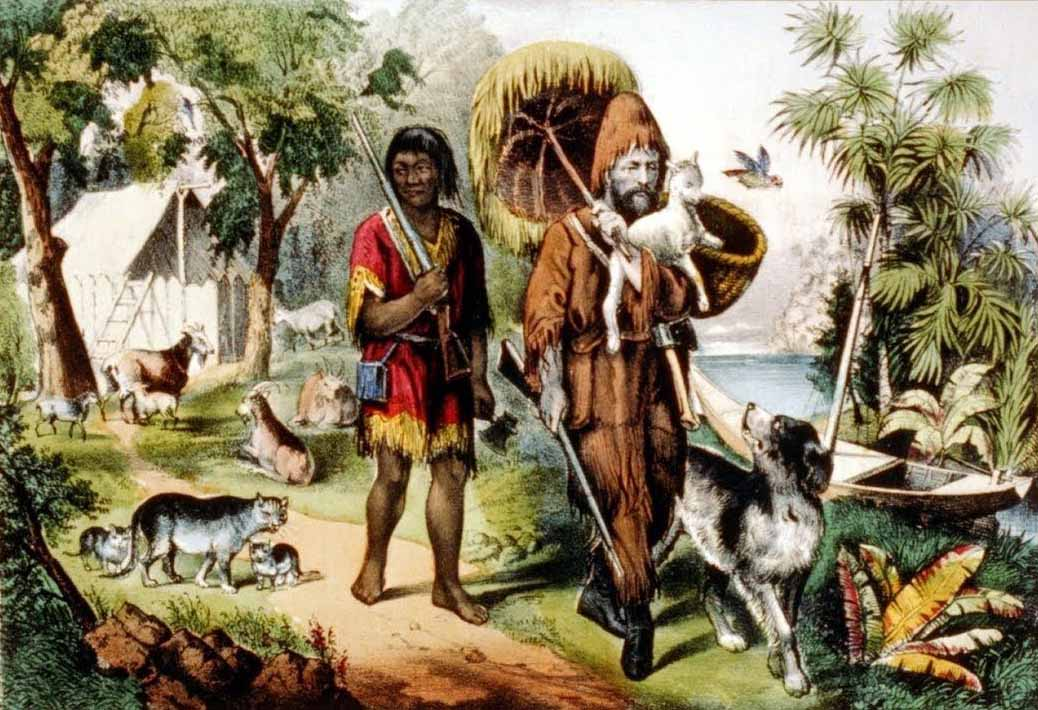 Robinson Crusoe'un Hikayesi 3