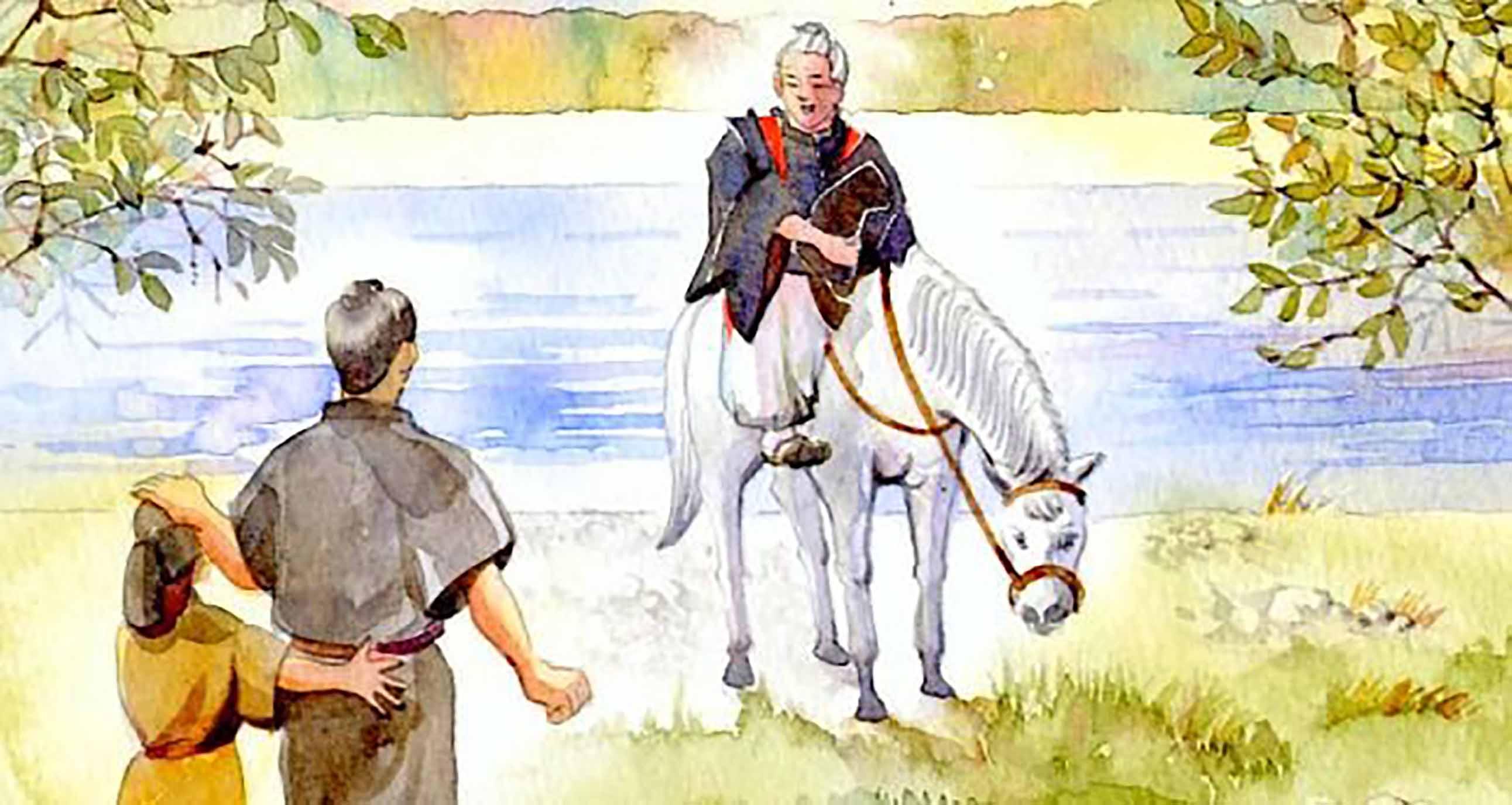 Yaşlı Adam ve Beyaz Atının Hikayesi 13